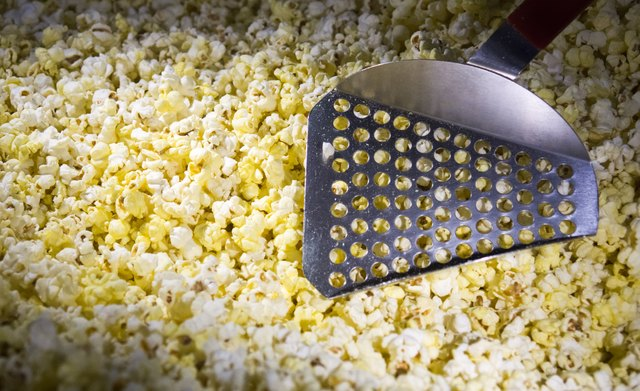 Keep reading to find out why this popcorn looks so darn yellow.
