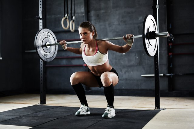 Weightlifting workouts are intense but don't use as much energy.