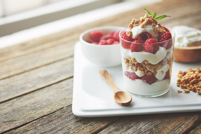 Yogurt is a delicious, high-protein part of any snack or meal.