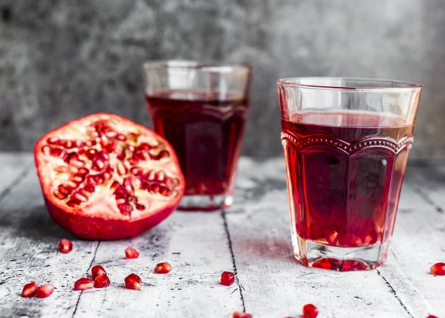Pomegranate juice, a brain beverage, has brain-health benefits.
