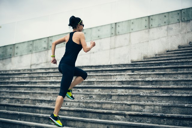 Too much running puts you at risk of injury.
