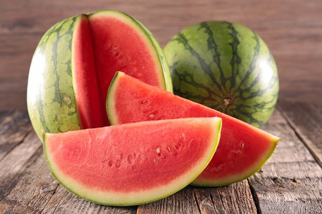 A slice of watermelon can keep you hydrated and help fight your muscle stiffness.