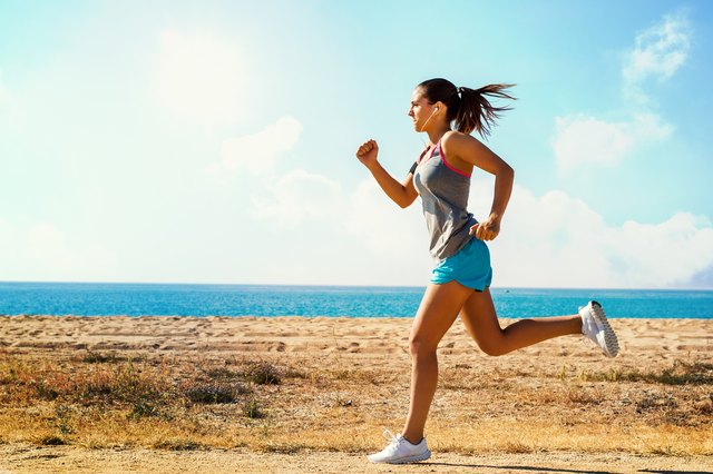 Running is considered an aerobic activity.