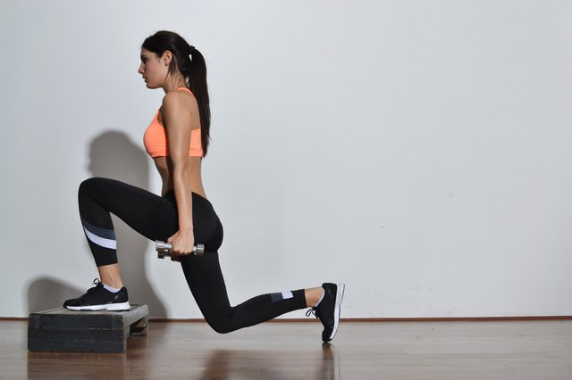 Lunges and squats are 2 of the best activities for reducing fat in the buttocks.