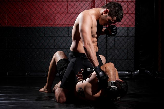 Grappling and striking are two of the major components of mixed martial arts.