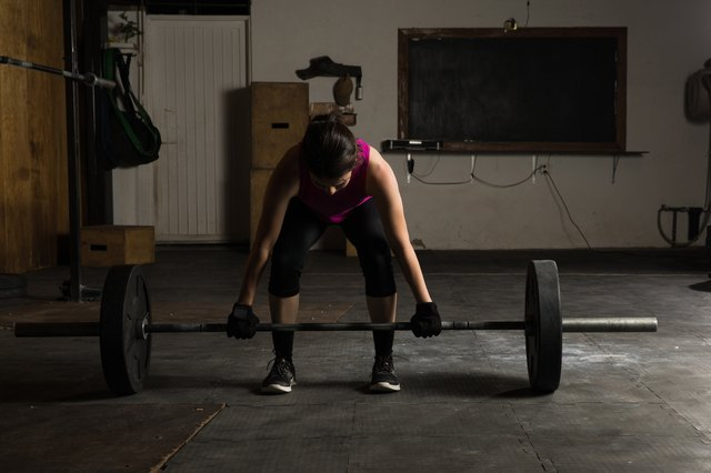 Use deadlifts to build up your hamstrings and glutes.