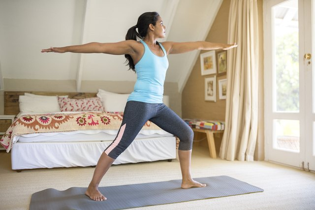 Yoga can help get you ready for the day.