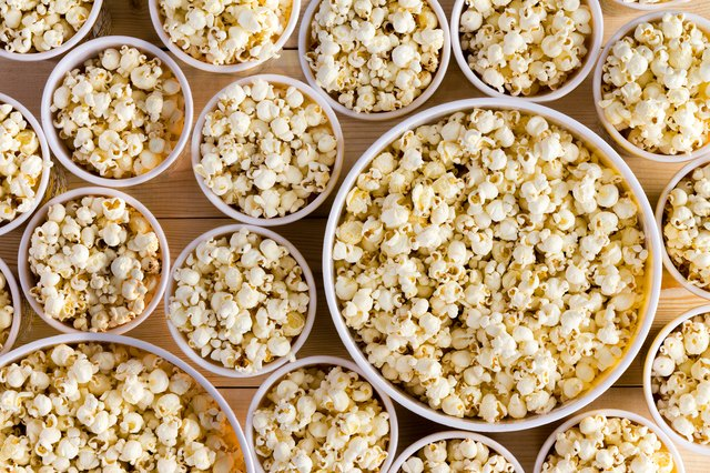 AMC's biggest popcorn contains 1,070 calories and 48 grams of fat. Yikes!