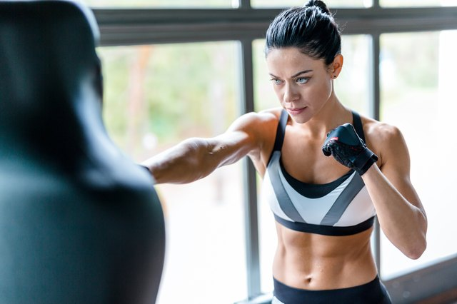 Kickboxing is a kick ass workout, at home or at the gym.