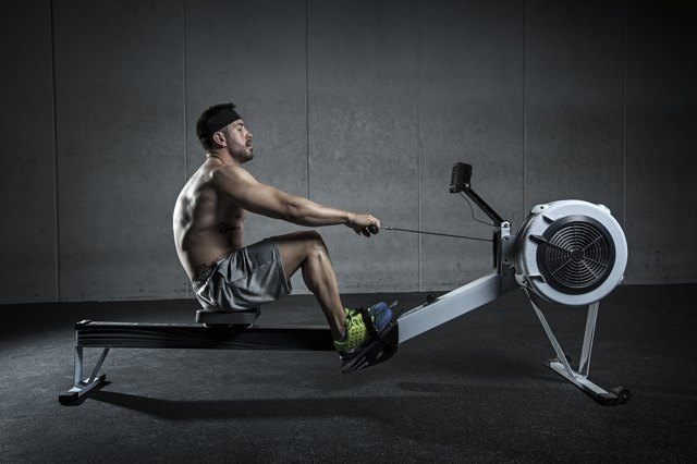 When done correctly, rowing uses a lot of lower body strength and endurance.