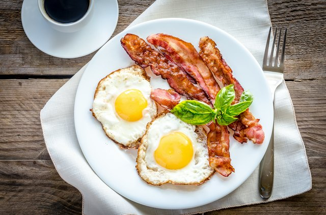 Bacon and eggs both contain the vital micronutrient.