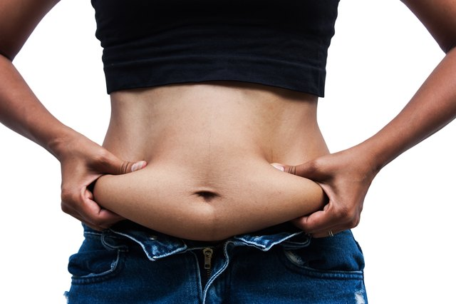 Getting rid of belly fat means dieting.