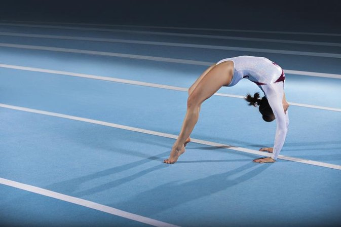 Gymnastics Drills For A Full Twist Layout Livestrong Com