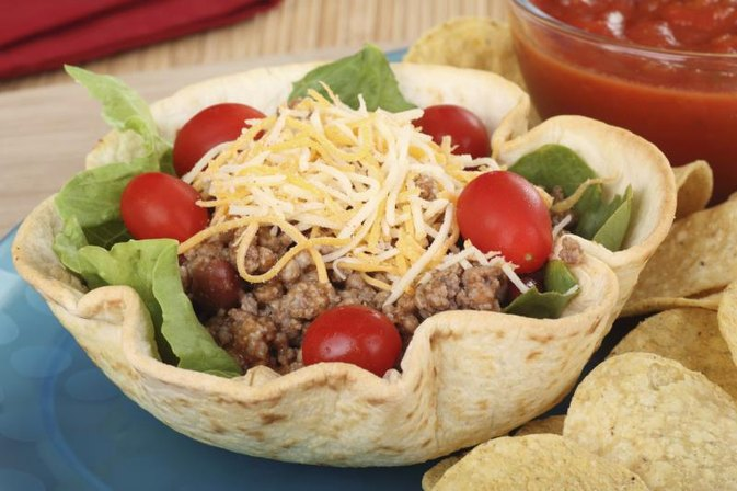 How Many Calories In Taco Salad At Mexican Restaurant