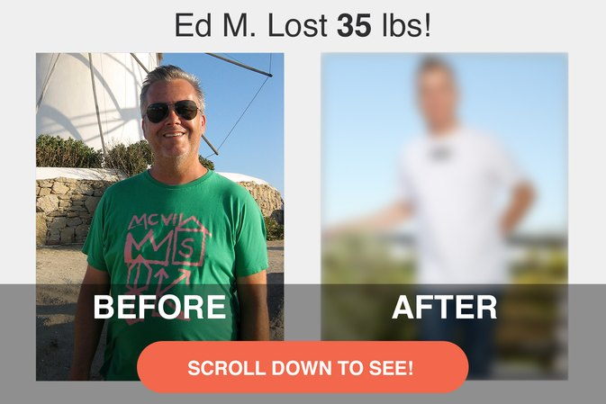 How Ed M. Cleaned up His Habits and Lost 35 Pounds