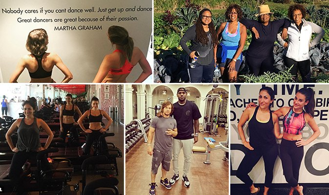 5 Times Celebrities Reminded Us How Important Workout Buddies Are