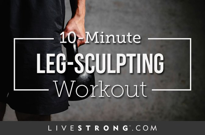 10-Minute Leg-Sculpting Workout