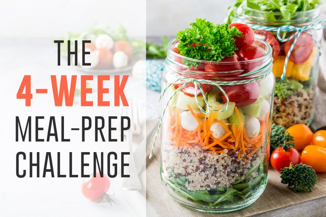 The 4-Week Meal-Prep Challenge