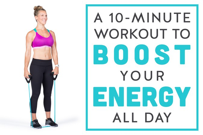 A 10-Minute Workout to Boost Your Energy All Day