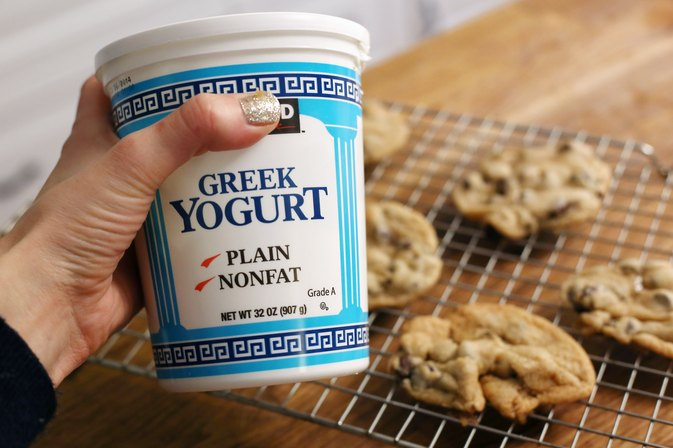 How to Replace Butter With Greek Yogurt in Cookies