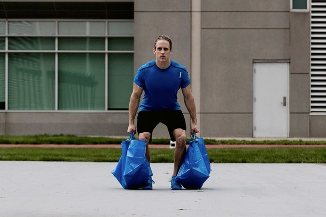The Iconic Blue IKEA Bag Is Now a Must-Have Fitness Tool