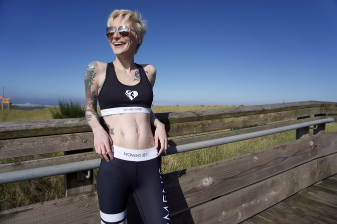 This Instagram Fitness Star Didn't Let Cancer Stop Her