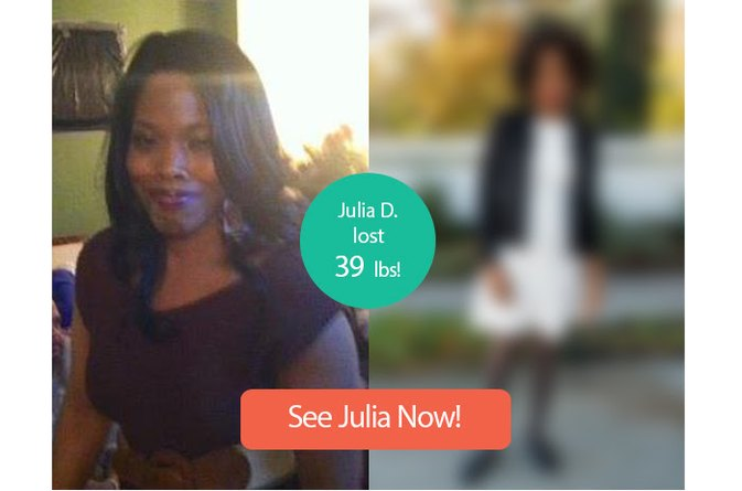 How Julia D. Lost 39 Pounds and Four Sizes!
