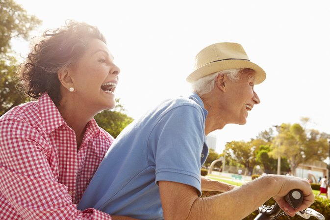 How Acting Like an Old Person Actually Makes You Happier
