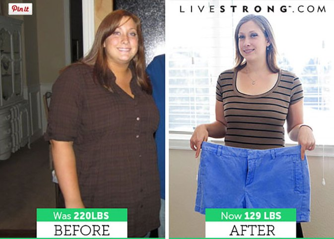 How Sarah M. Lost 91 Pounds