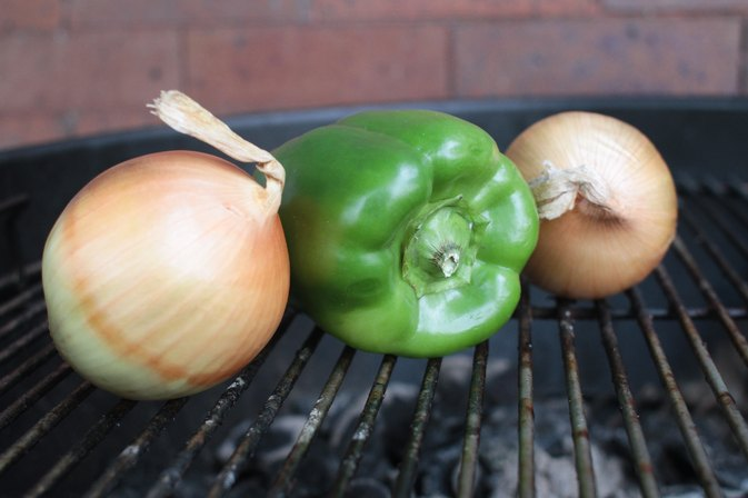 How to Cook Onions & Peppers on the Grill