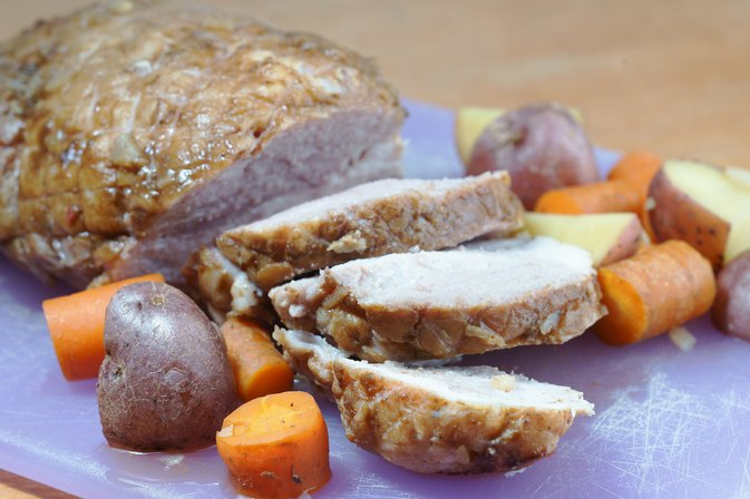 Slow Cooker Pork Roast With Onion Soup