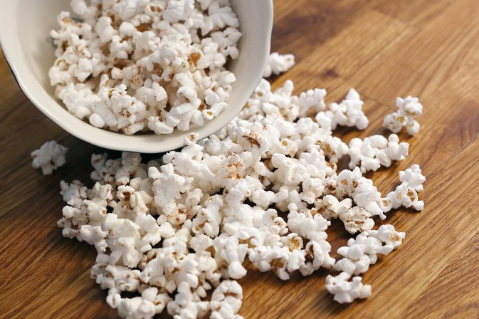How to Make the Flavor Stick to Air-Popped Popcorn
