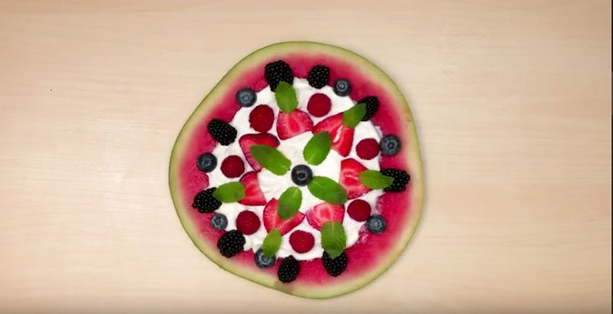 This Watermelon Pizza Is Unbelievably Simple and Healthy