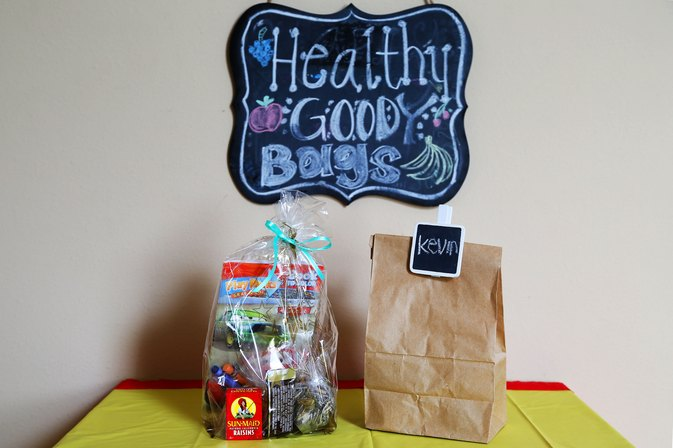 Healthy Goody Bags  for Kid's Parties