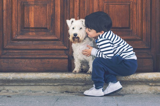 Proof That Toddlers and Dogs Really Are Alike