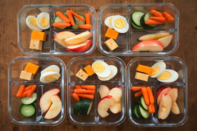 A Quick Formula for a Week's Worth of Healthy Snacking