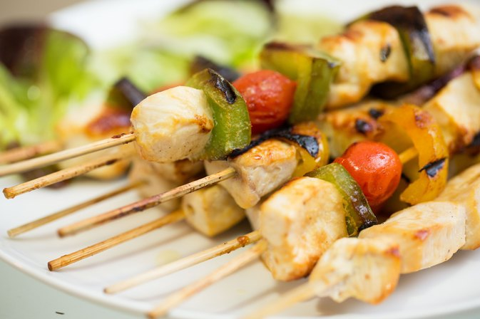 Broiler Chicken Kabobs
