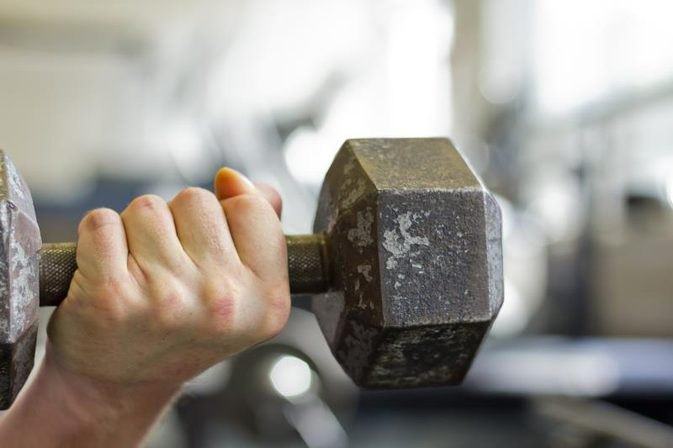 One-Arm Dumbbell Bench Presses