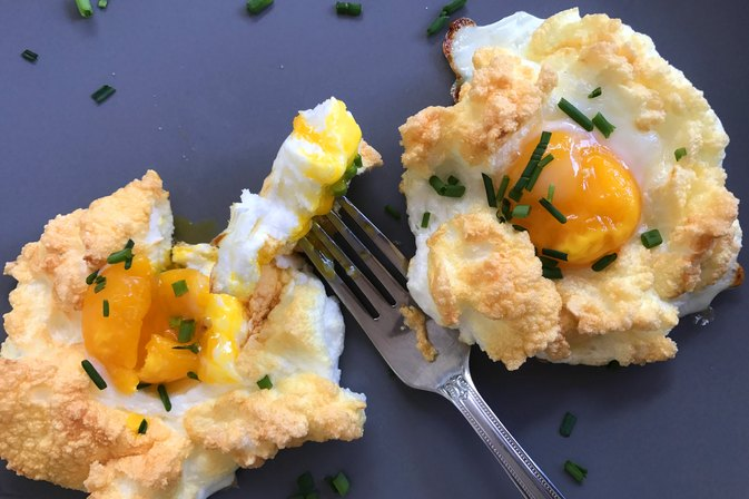 Fluffy Cloud Eggs Are the Breakfast Worth Waking Up For