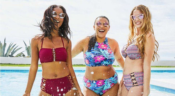 Target Breaks Up With Photoshop for New Swimsuit Campaign