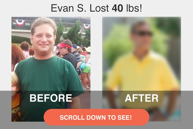 How Evan Maintained His 40-Pound Weight Loss & Toned Up Even More