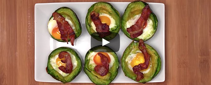 How to Make Avocado Egg Cups
