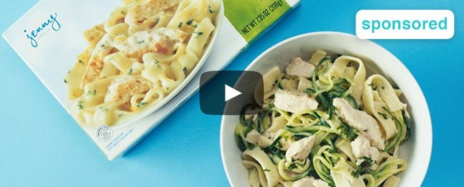 How to Make Chicken Fettuccine and Zoodles
