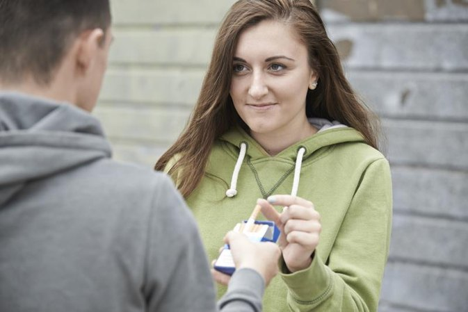Ideas for Punishment for Teenagers Who Admit to Smoking
