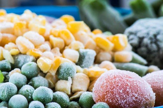 Congela tus vegetales antes de empezar con la preparación