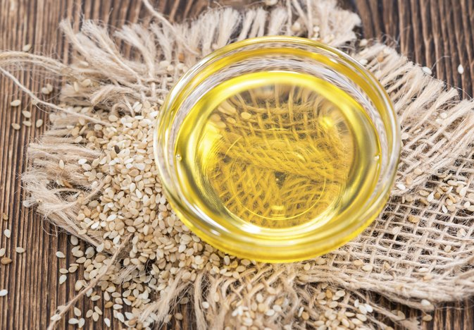 Sesame Oil for Nasal Dryness