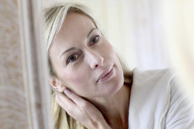 Mature oily massage