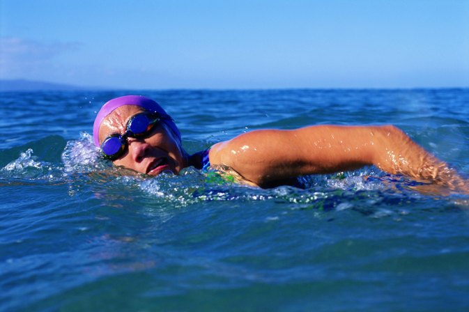 Strategies for Swimming a Half Mile
