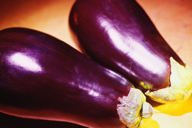 How to Microwave & Bake Eggplant