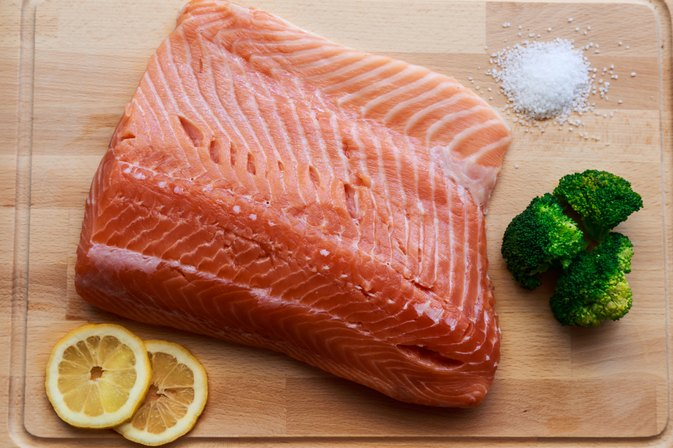 How to Cook Salmon for a Baby